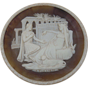 Signed Plate Antony and Cleopatra from the Great Romances of History Collection