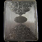 Deeply Embellished Early Cigarette Case