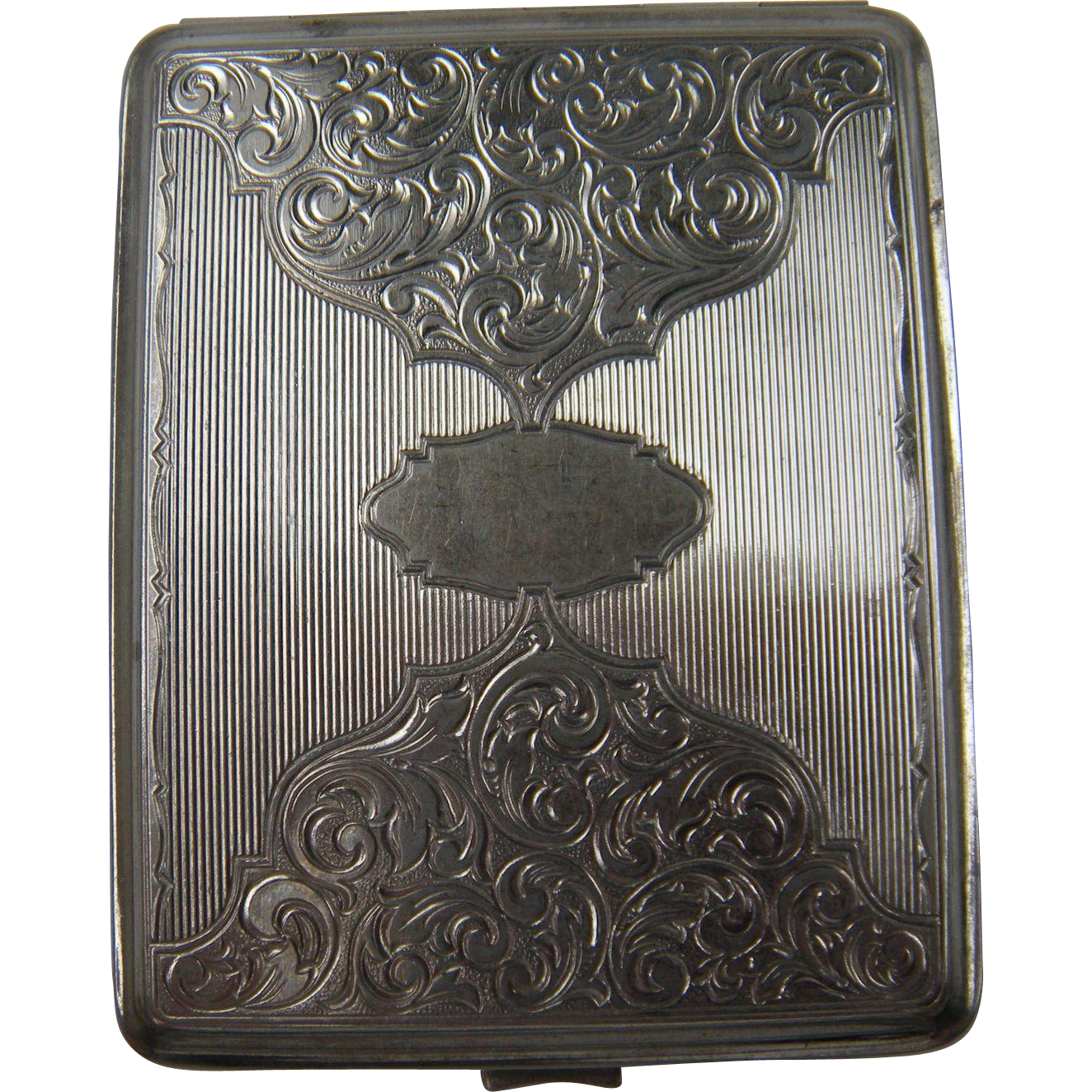 Deeply Embellished Early Cigarette Case