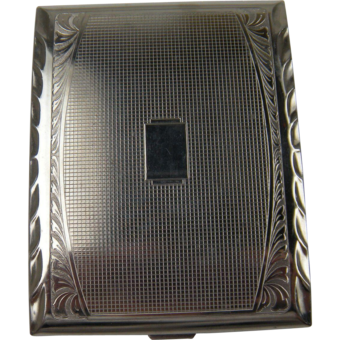 Signed GERMANY Extra Large Cigarette Case/Compact