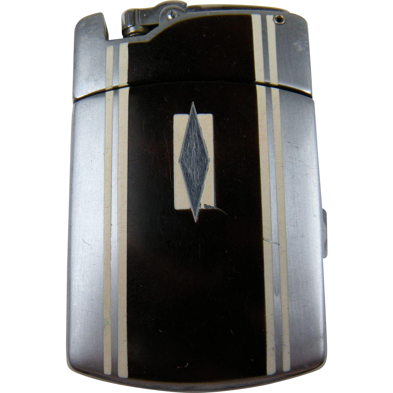 Signed RONSON Cigarette Case with Lighter