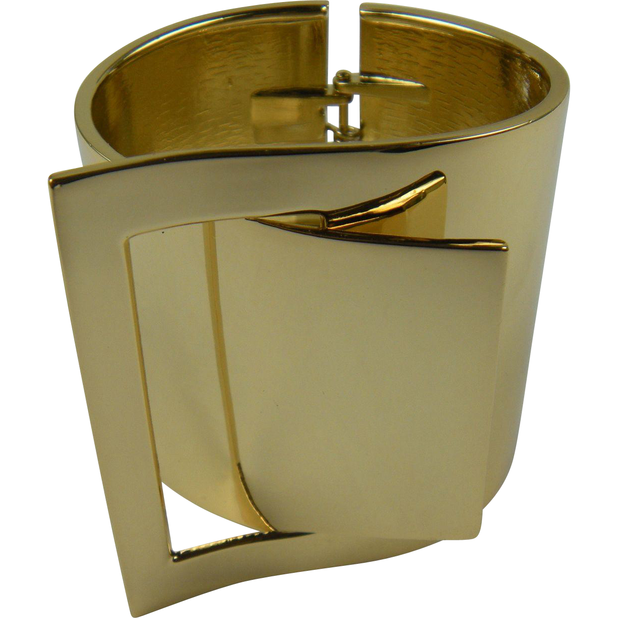 RESERVED FOR J: Designer Quality Modernist Cuff Bracelet