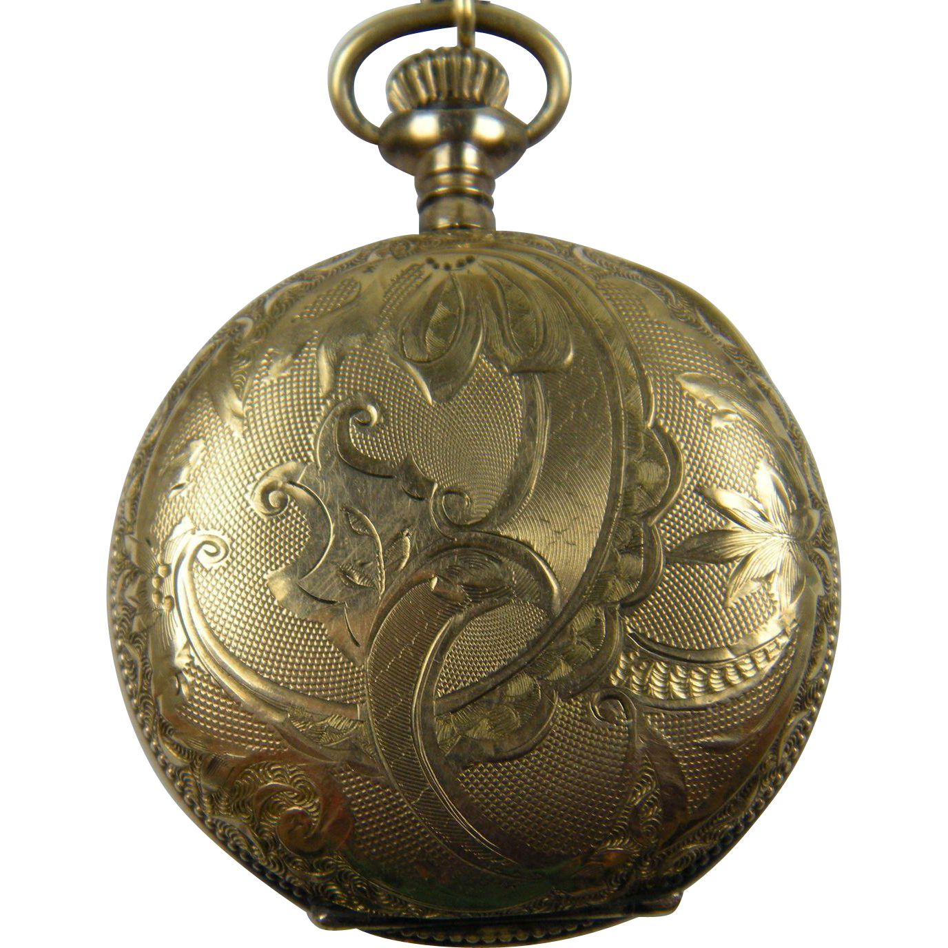 Engraved RODE Pocket Watch with Chain