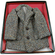 Unique Doll-Sized Salesman Sample Harris Tweed Jacket