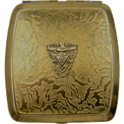 Embellished Double Compact with Virginia Military Institute (VMI) Insignia