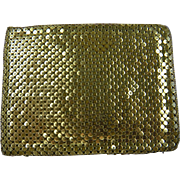 Signed Whiting and Davis Mesh Wallet