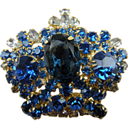 Gorgeous Large Rhinestone Crown