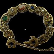 Signed GOLDETTE Iconic Slide Bracelet