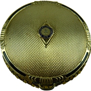 Unsigned Whiting and Davis Compact with Augusta Military Academy 1874 Insignia