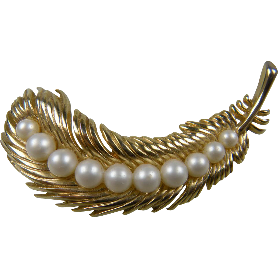 TRIFARI 1956 Demi Parure Book Piece