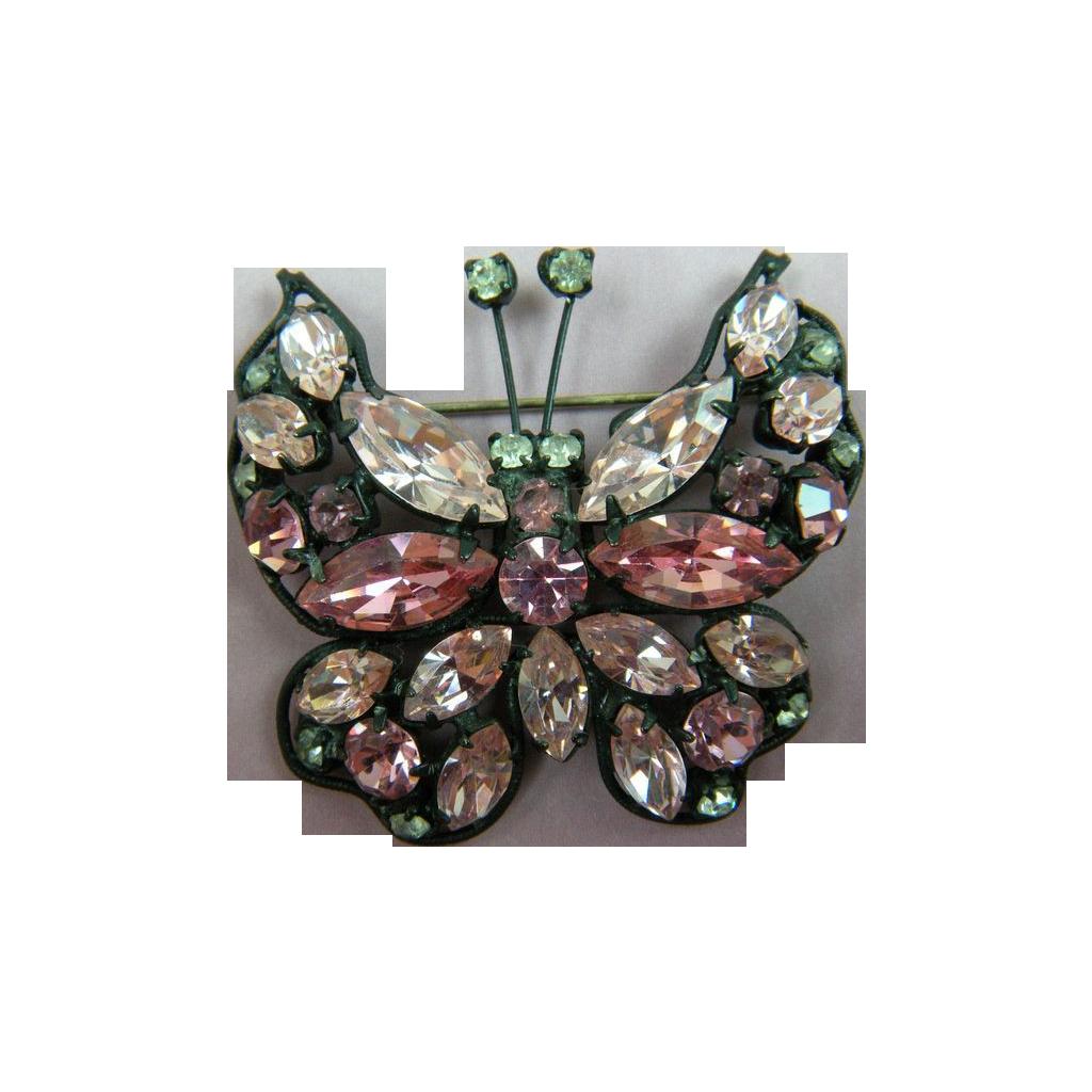 La Roco Butterfly Brooch