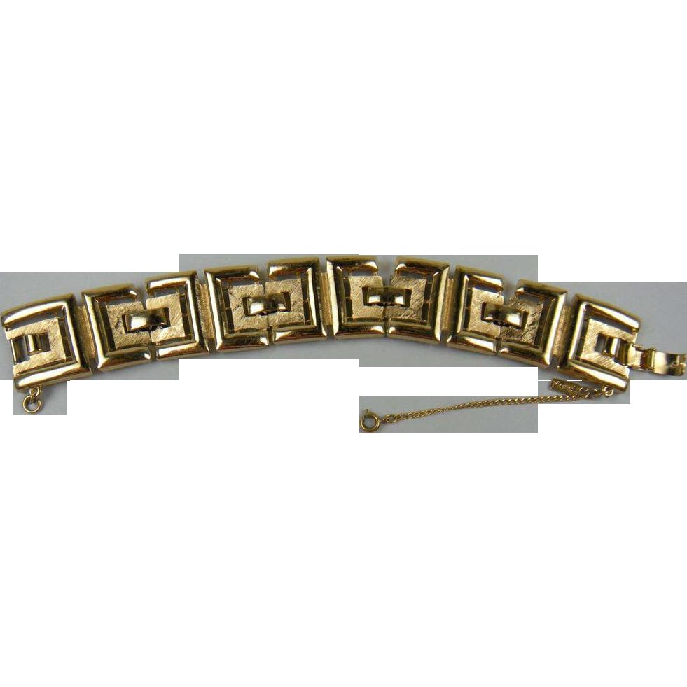 Classic Signed MONET Bracelet