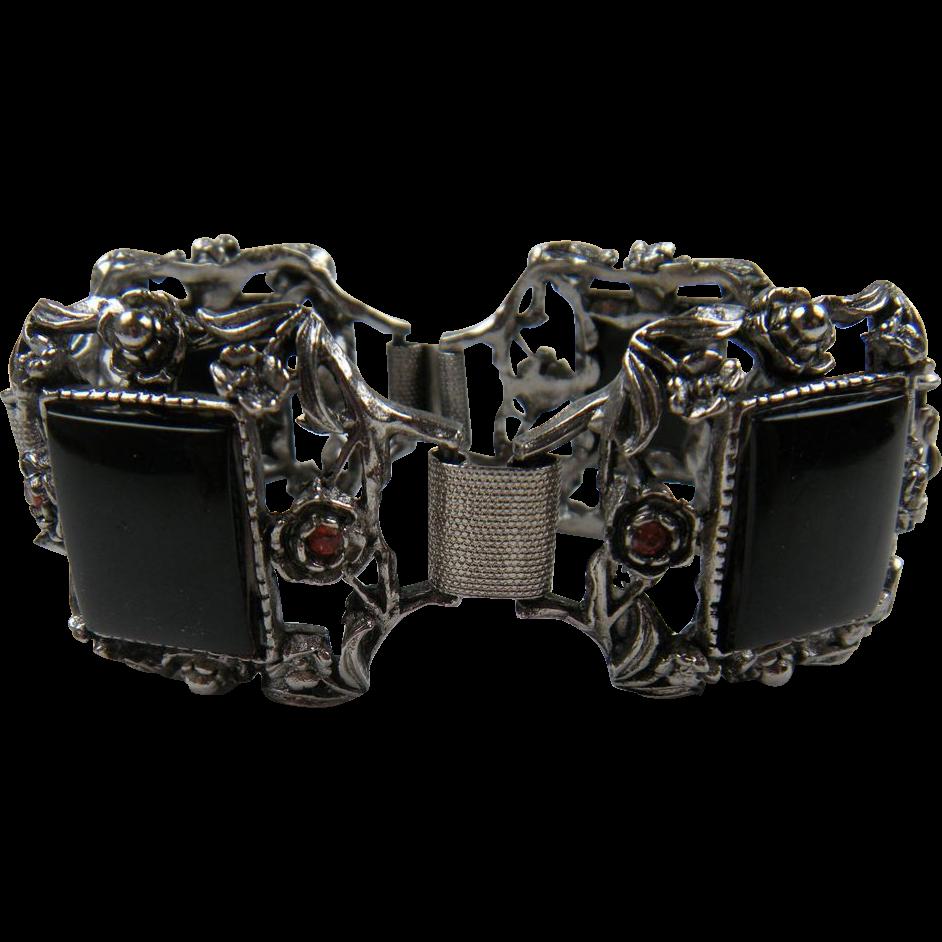 Unsigned Selro Chunky Style Bracelet