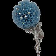 SALE Unsigned VENDOME Flower Brooch Book Piece