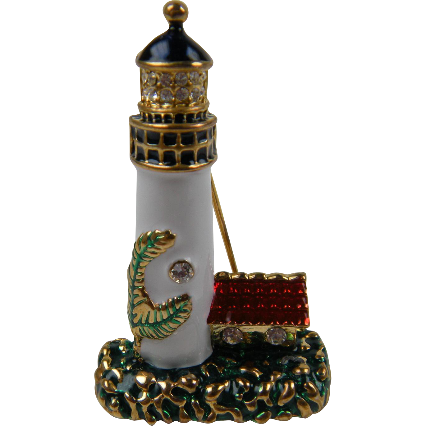 Unique Lighthouse Brooch