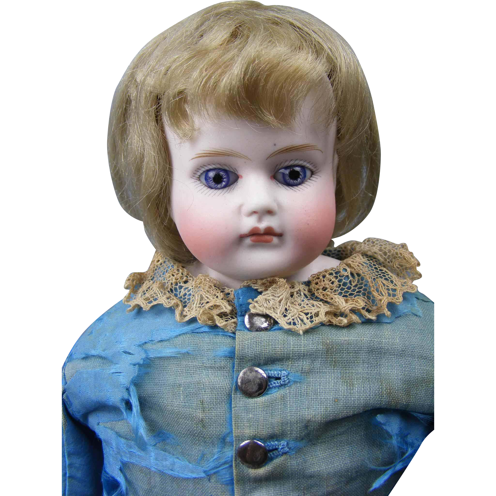 Cabinet Size Early German Child on Fashion Body All Original