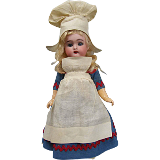 "9"" Halbig/K*R Ethnic Little Dutch Girl All Antique and Original"