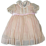 Lovely Vintage Madame Alexander Dress Larger Baby or Girl Doll