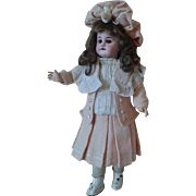 "French Market 13.5"" Walking/Turning Head Bebe Circa 1901-Factory Original"