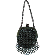 Antique Fashion Poupee Purse