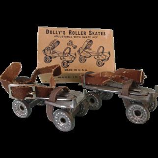 """2"""" Vintage Roller Skates - Original Box"""