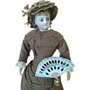 Antique French Fashion Fan