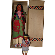 "16"" Skookum Chief with Child, In Original Box"