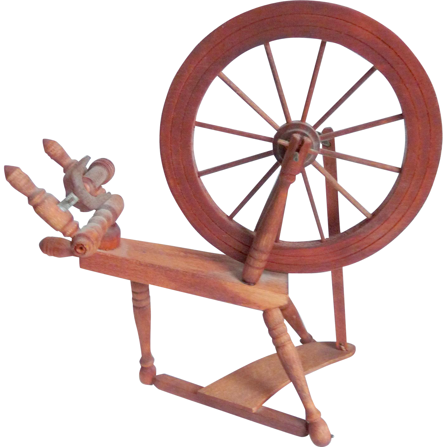 Spinning Wheel, Doll Sized