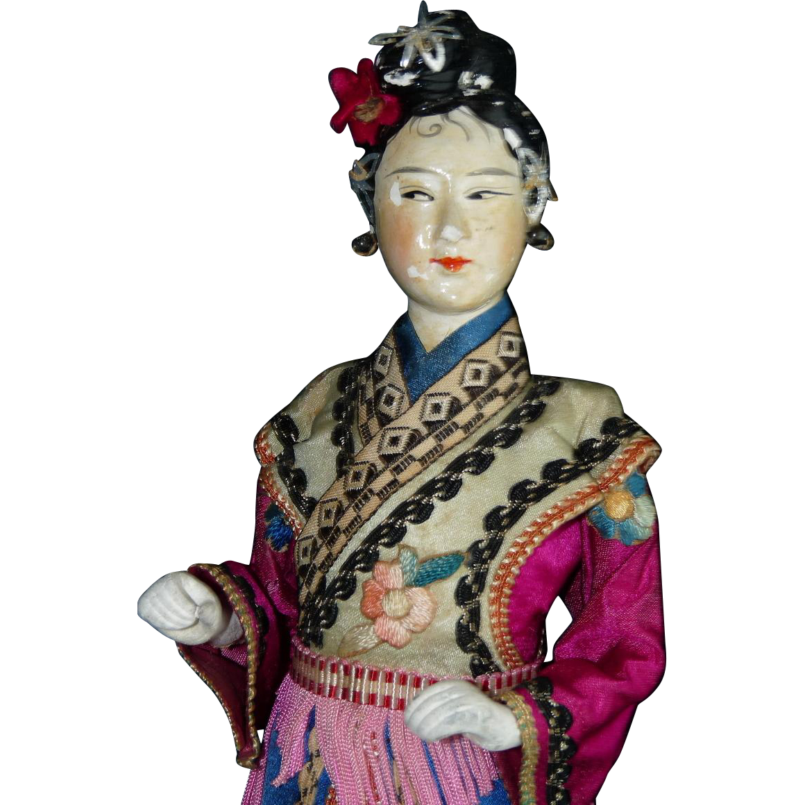 Early Asian Lady