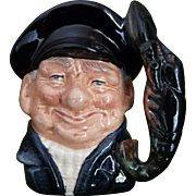The Lobster Man by Royal Doulton Toby mug