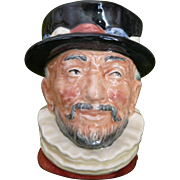 Beefeater by Royal Doulton Toby mug