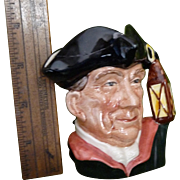Night Watchman by Royal Doulton Toby mug