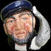 Captain Ahab Toby mug by Royal Doulton