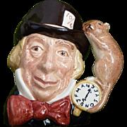 Mad Hatter Toby mug by Royal Doulton
