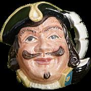 Captain Henry Morgan Toby mug by Royal Doulton