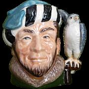 Falconer Toby mug by Royal Doulton