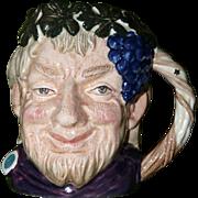 Bacchus Toby mug by Royal Doulton