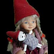 Pixie Girl by Brigitte Frigast