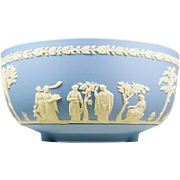 Wedgwood Blue Jasperware Sacrifice Bowl