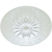 Steuben Crystal Sunflower Bowl Mint Box