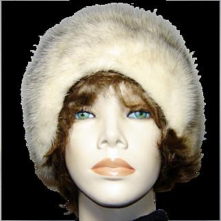 Vintage Mink Cloche Hat