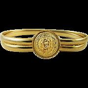 Vintage Judith Lieber Lion Belt