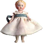 Adorable All-bisque Doll