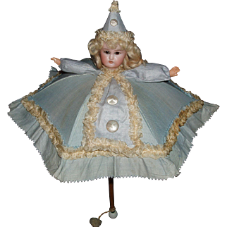 Fabulous Original Antique Doll Umbrella