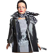 Tonner Metro Chic Shimmery Dress and Raincoat Combo