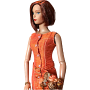 Tantalizing Tangerine Dream Dress by Tonner