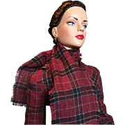 Smart Tartan Plaid Suit With Extras for Tonner Fashion Dolls