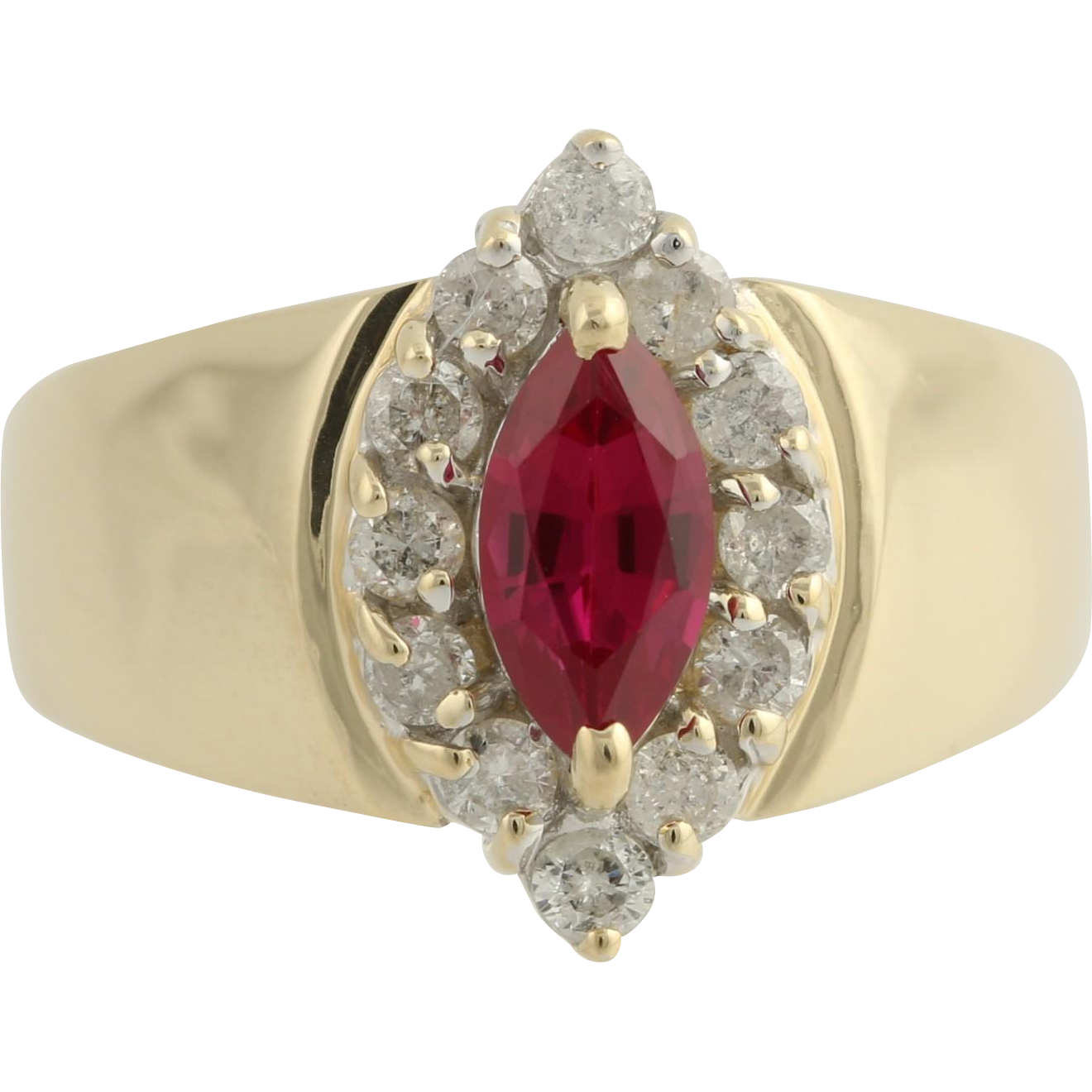 Ruby Cocktail Ring 111