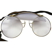 14k Gold Antique Folding Eye Glasses