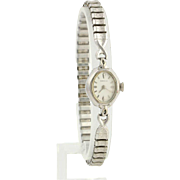 Caravelle Women's Wrist Watch - Mechanical Ladies 17 Jewel Vintage